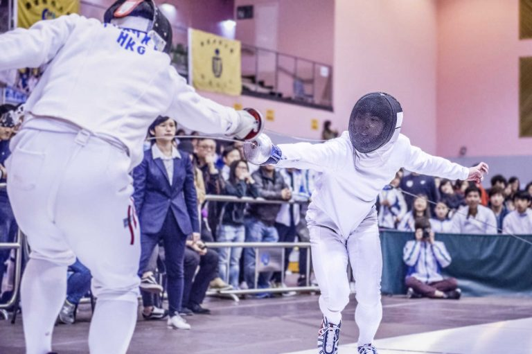 Fencing Sports Photography Hong Kong