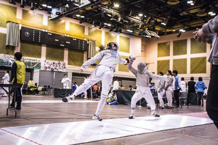 Fencing Photography Hong Kong