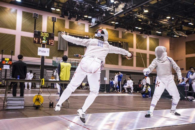 Fencing Sports Photography Hong Kong